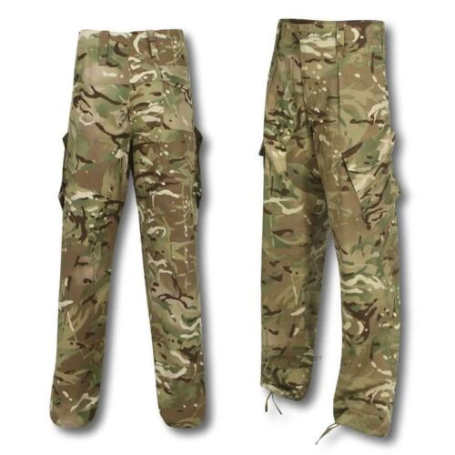 Vintage used Urban Womens Camo Trousers Army CAMO MTP