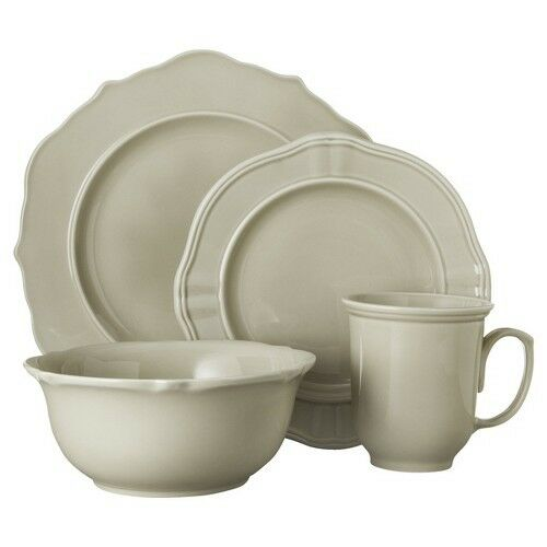 Threshold 16 Piece Wellsbridge Dinnerware Set - Gray