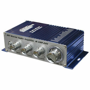 NIPPON-ISAMP220-Installation-Solutions-Mini-Stereo-Amplifier-with-3-5-Aux-input