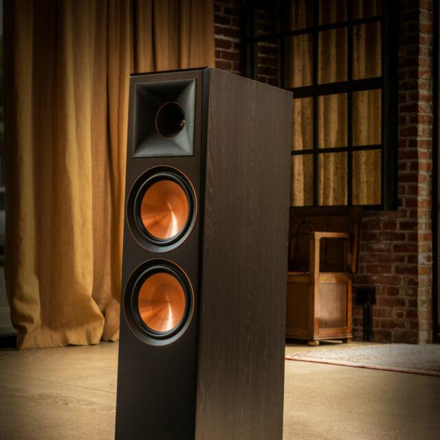 Klipsch RP-8000F Floorstanding 150 W Speakers Pair - Walnut B-stock