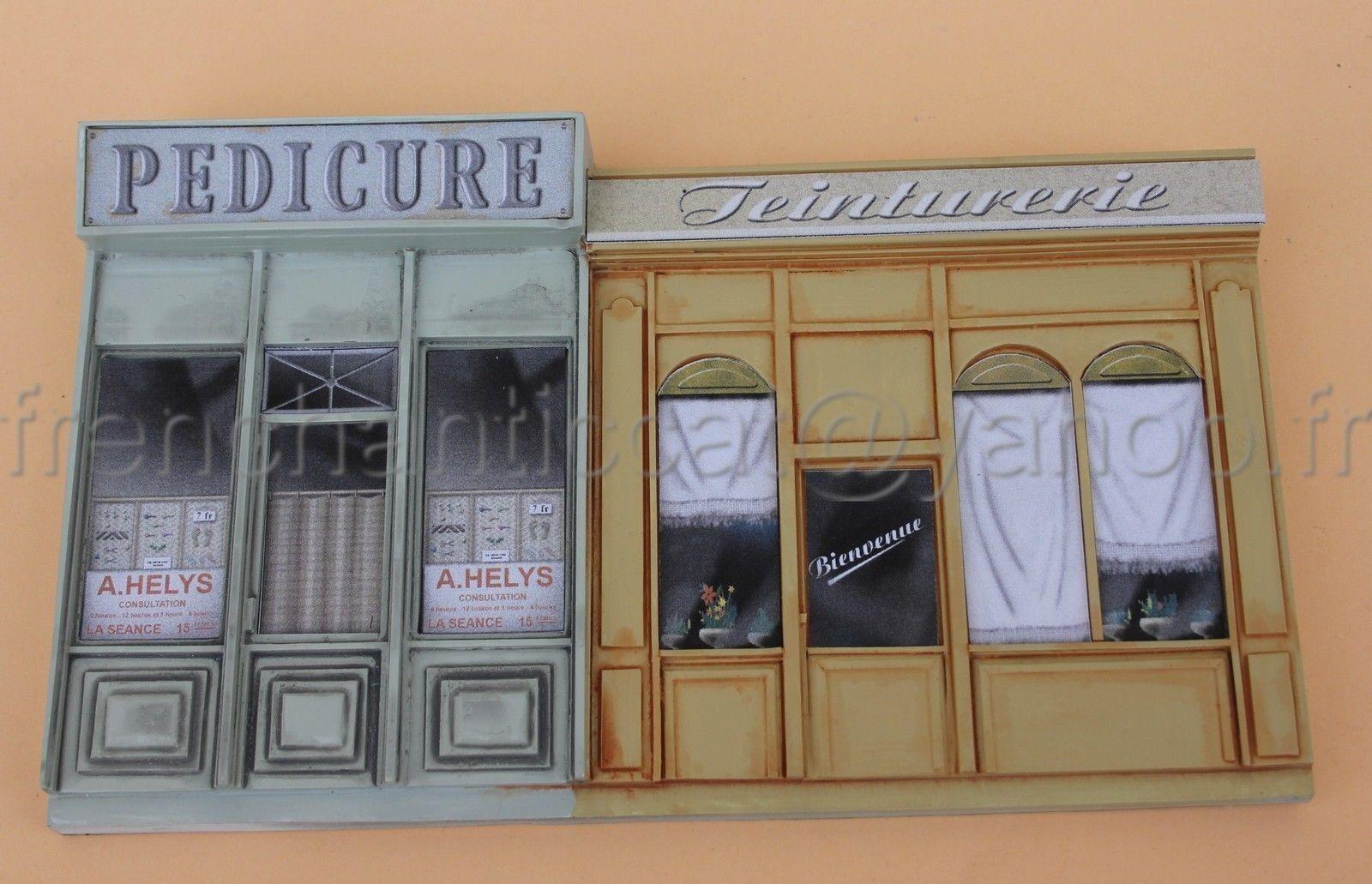 Idea Fachada Complete 1 43 Heco Miniaturas Shop Diorama Fondo Resina Teinturie