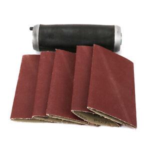 Aluminum-Pneumatic-Sanding-Drum-Rubber-Sleeve-With-Sanding-Belt-For-Polishing