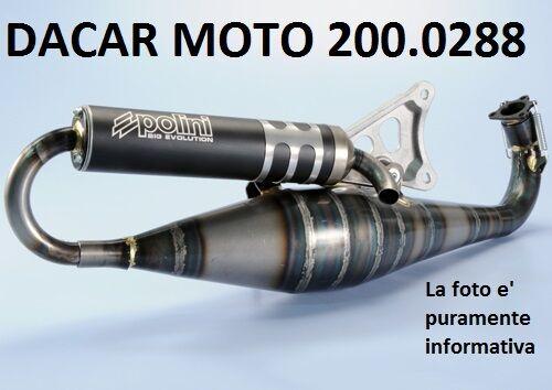 200.0288 SILENCER POLINI APRILIA SR 50 LC STEALTH/RACING/NETSCAPER