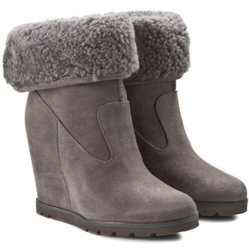 Eur 6 5 Grey 235 de Pull 8 Usa botas 39 Uk £ Ugg® cuña Suede Rrp en Kyra Australia wqFPE7v