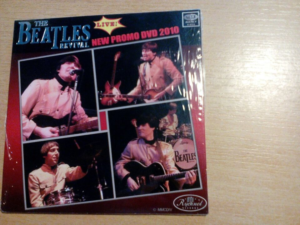 The Beatles new promo Dvd 2010, DVD, andet