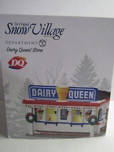 Dept 56 Snow Village Dairy Queen Store 404855