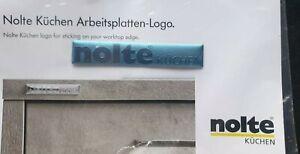 Details zu Nolte-Küchen Arbeitsplatten-Logo Werbung 1 Stück Neu