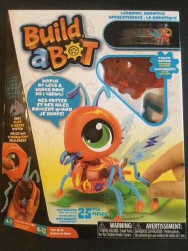 Build A Bot Fire Ant Robotics Robot Kit BNIB Free Shipping