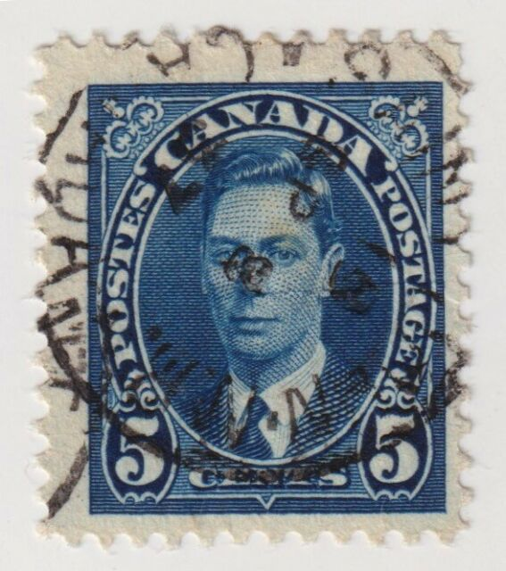 1937 Canada - King George VI - 5 Cent Stamp