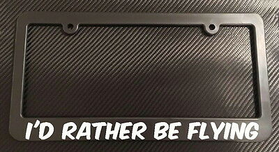LAS VEGAS NEVADA I/'D RATHER BE IN License Plate Frame