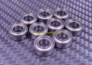 "440c S.Steel Metal Ball Bearing SR3zz R3zz 5 PCS 3//16/"" x 1//2/"" x 10//51/"""