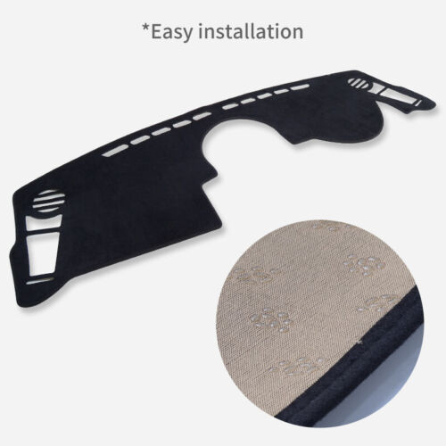 Dash Mat Dashmat for KIA Soul 2010~2016 Sun Shade Mats Car Dashboard Cover BLACK