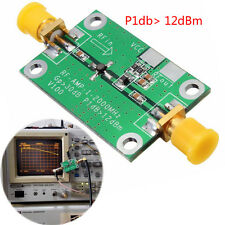 1Mhz-2Ghz  Wideband RF Amplifier Low Noise LNA RF 30dB HF VHF/UHF ham,SMA,50Ohm