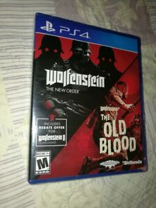 Wolfenstein-The-Two-Pack-for-Playstation-4-NEW