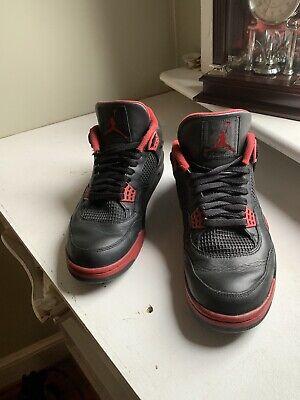 CUSTOM Air Jordan 4 Fire Red Into Dirty