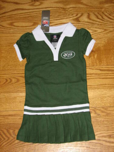 NEW Girls New York Jets Cheerleader Polo Dress Size 3T 3 T Toddler Cheerleading