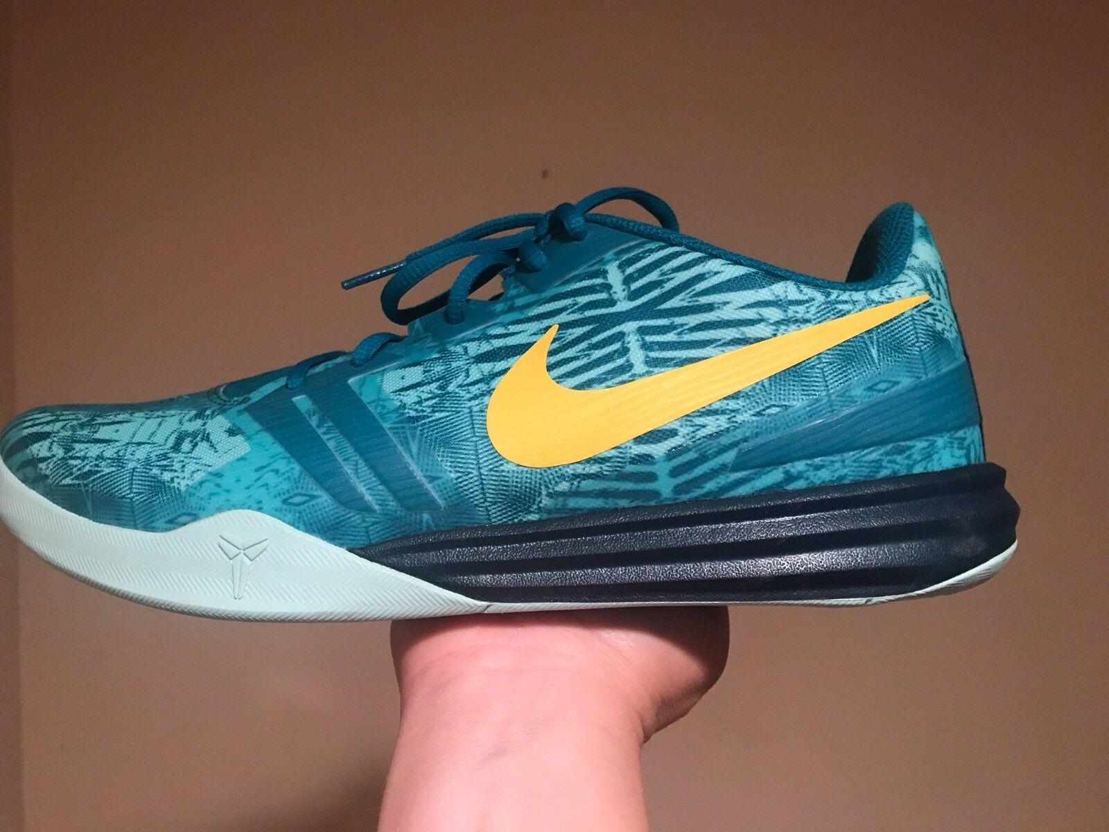 NIB- new SneakersNIKE KB MENTALITY green gold size 11.5