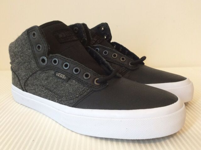 bd4b83253e Vans Bedford Tweed Black White Sneakers VN000XB5I4K New W OUT Box DS Mens  SZ 6.5