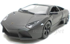 Bburago 18 21041 Lamborghini Reventon 1 24 Diecast Grey Ebay