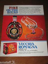 AF6=1968=VECCHIA ROMAGNA ETICHETTA NERA BRANDY=PUBBLICITA'=ADVERTISING=WERBUNG=