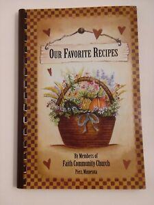 Faith  Community Church  Pierz Minnesota  cookbook