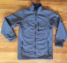 Columbia  Men's Omni Shield Gray Front Zip Fleece Lined Jacket Size Small