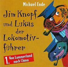 MICHAEL ENDE : JIM KNOPF UND LUKAS DER LOKOMOTIVFÜHRER - FOLGE 1 / CD (HÖRSPIEL)