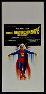 Plakat-Traeume-Ungeheuer-Verbotene-Paul-Dorf-Superman-Fantozzi-N34
