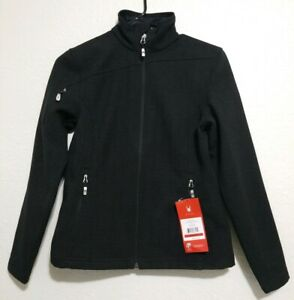 Spyder-Humbolt-Softshell-Jacket-Womens-Size-XS-Color-Black-NEW
