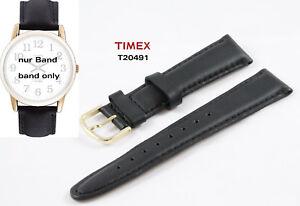 Logisch Timex Ersatzarmband T20491 Easy Reader Classics Zubehör Ersatzband 18mm Universal Geschickte Herstellung