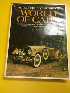 Automobile-Quarterly-039-s-039-World-Of-Cars-039-Hardcover-with-Dust-Jacket-1st-Edition