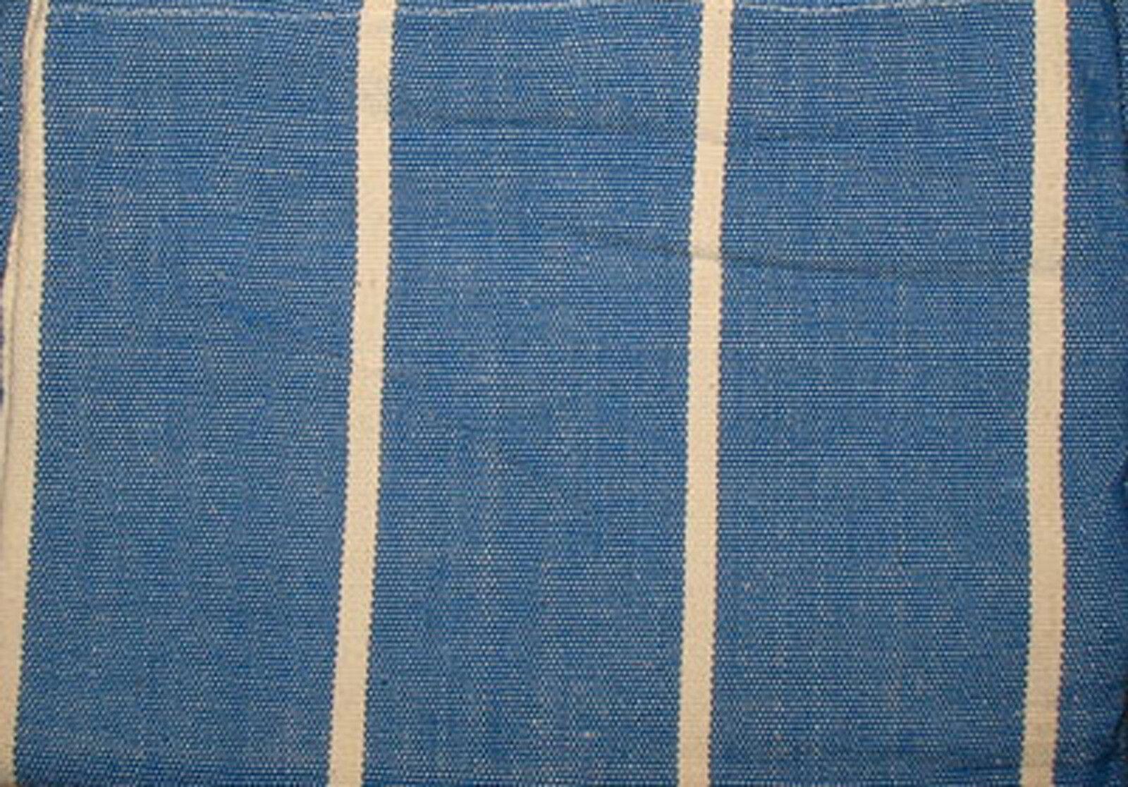Hängematte groß, blue-white, stabil, gewebt aus Südamerika