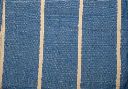 Hängematte groß gewebt aus Südamerika blau-weiß stabil