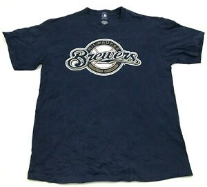 MLB Aramis Ramirez Milwaukee Brewers Shirt Large L Short Sleeve MLB Baseball Tee