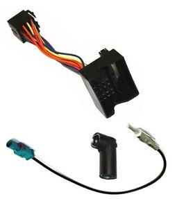 Cable-adaptateur-faisceau-autoradio-pour-BMW-Serie-1-3-5-6-7-X1-X5-X6-Z4-Mini