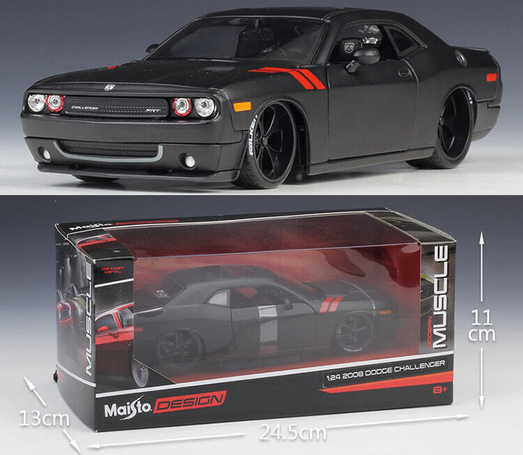 MAISTO 1 24 Dodge 2008 Challenger Alloy Diecast Vehicle Car MODEL TOY GIFT NIB