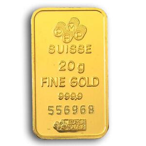 20 Gramm Goldbarren - verschiedene Hersteller - 2. Wahl