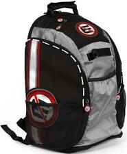 NO ERRORS - Scout Backpack (Back Pack) Baseball or Softball Bat Bag -Black Only