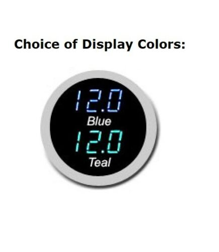 Dakota Digital 69 Chevy Chevelle El Camino Clock Gauge Blue or Teal CLK-69C-CVL