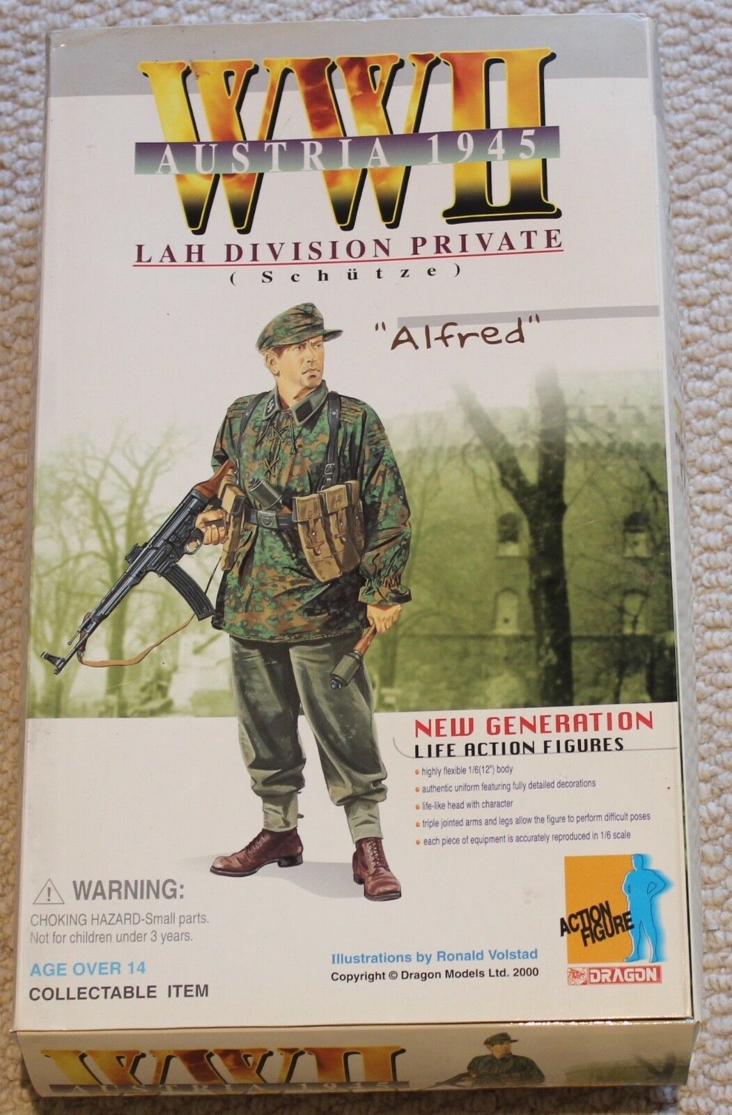 Dragon Action Figure 1 6 ww11 German Spring Alfrouge 12  Coffret a Cyber Hot toy