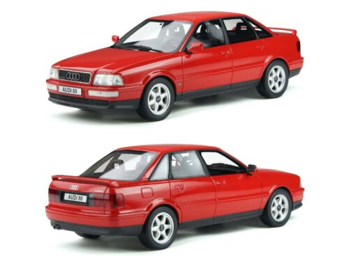1//18 Ottomobile Audi 80 b4 Quattro Competition Laser Rot Versand End September
