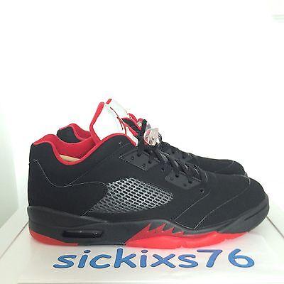 hot sale online 0afcc a0e20 DS Men's Nike AIR JORDAN 5 RETRO LOW 'Alternate 90' Sz 9/EUR 40.5 [819171  001] V | eBay
