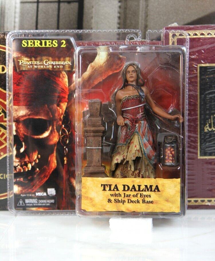 TIA DALMA - NECA ---- SEALED -- PIRATES OF CARIBBEAN SERIES 2