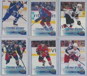 2016-17-Upper-Deck-Series-1-Series-2-Canvas-Young-Guns-Rookie-YOU-CHOOSE
