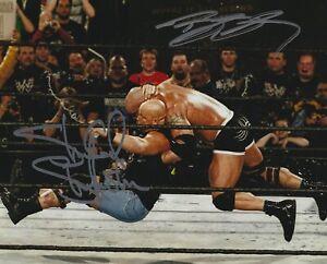 Stone-Cold-Steve-Austin-amp-Bill-WWF-WWE-Autographed-Signed-8x10-Photo-REPRINT