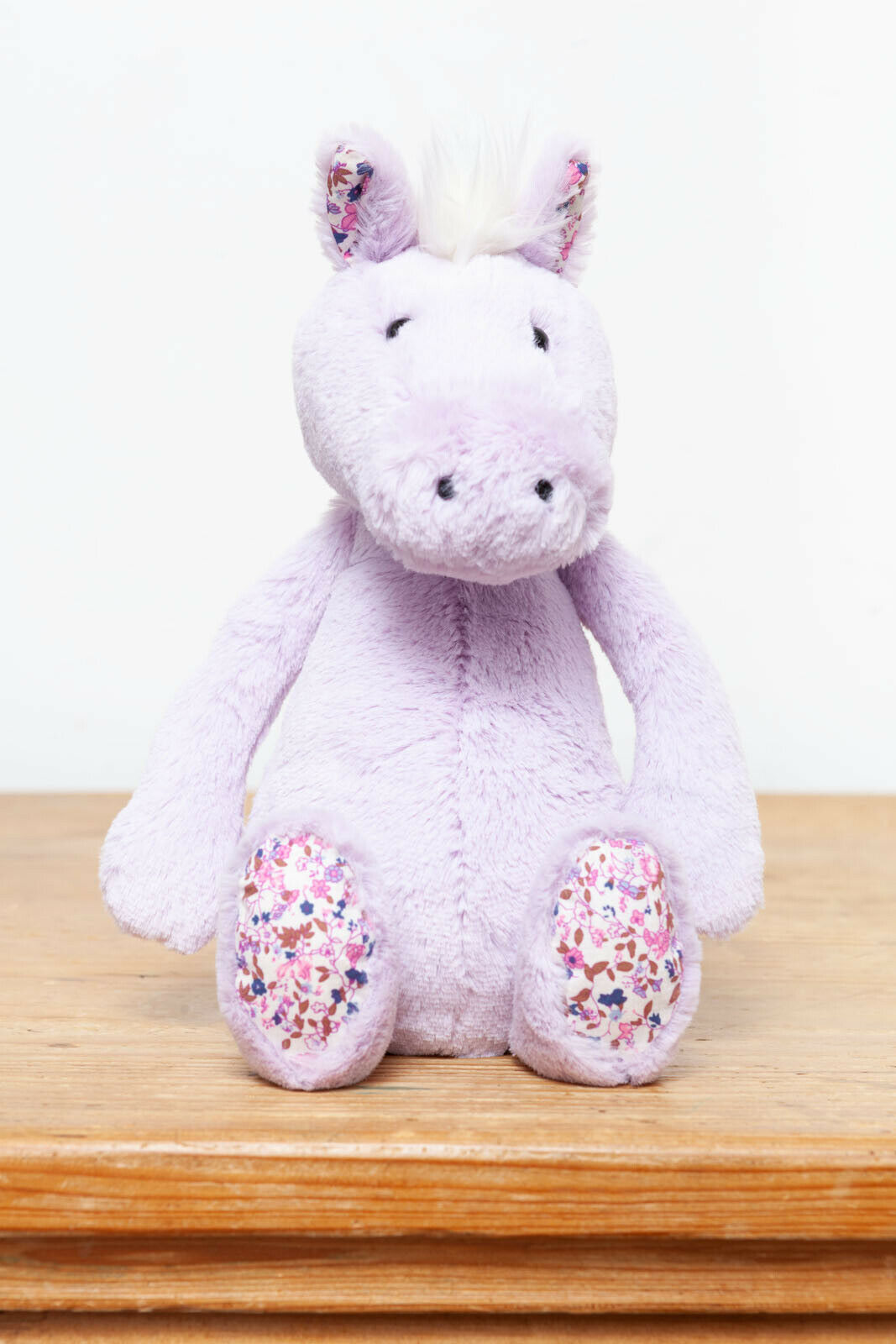 Jellycat Medium Bashful purplec Blossom Pony  Horse