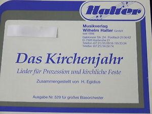 Das Kirchenjahr H Egidius Halter Verlag Posaune 3 Ebay