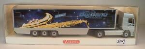 696 40 52 IVECO EuroStar Sattelzug Koffer Bundeswehr OVP #3442 Wiking 1//87 Nr