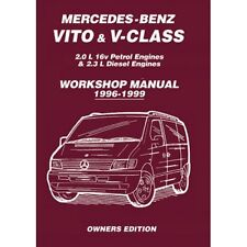 mercedes benz vito viano 2004 2010 owners workshop manual mbv4wh rh ebay co uk viano 2006 owners manual viano owners manual pdf