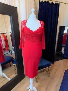 ebay red party dresses
